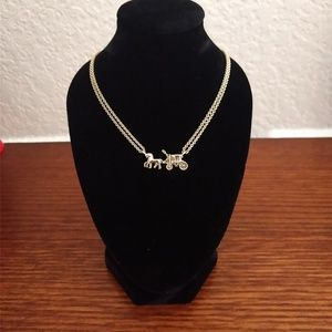 Coach Horse & Carriage Necklace